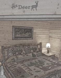 The Deer Bedroom