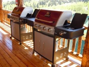 2 - 4 Burner BBQ Units