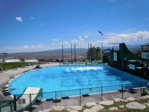 Olympic Park Ski Jump Practice Pool